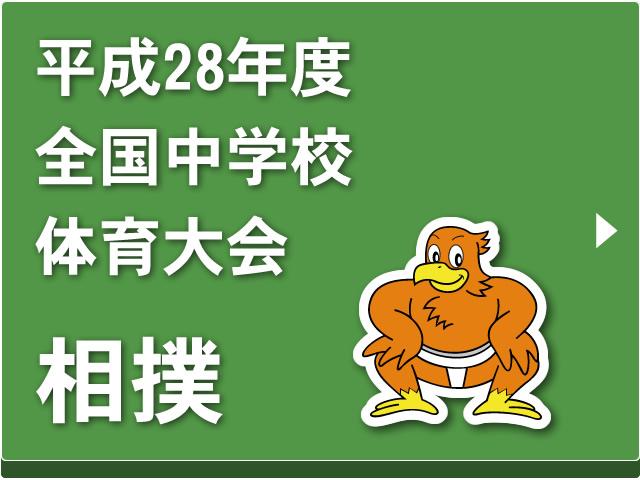 平成28年度全国中学校体育大会「相撲」